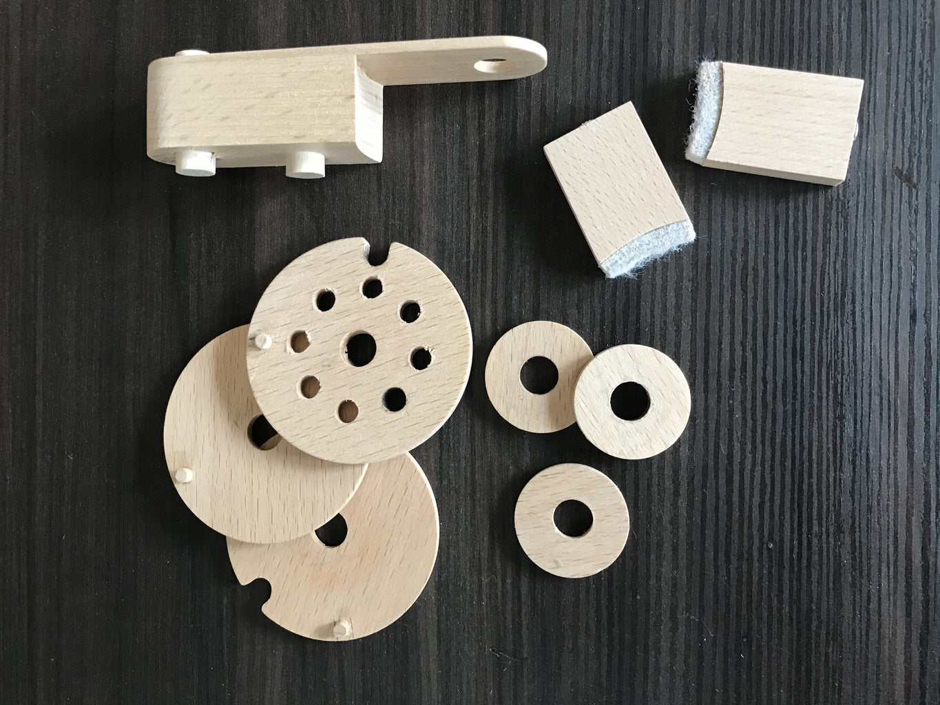 Parts Required for the Locking Mechanism