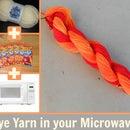 Dyeing Yarn in a Microwave Using Kool-Aid