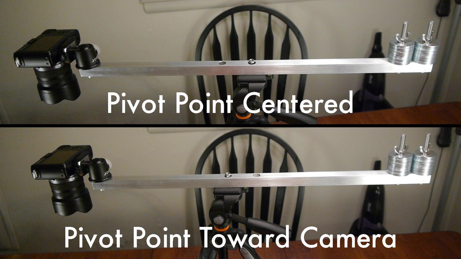 Adjust the Pivot Point (Optional)