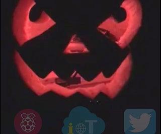 Tweet Pumpkin - Change  LED Color Via Twitter With Raspberry Pi - IoT