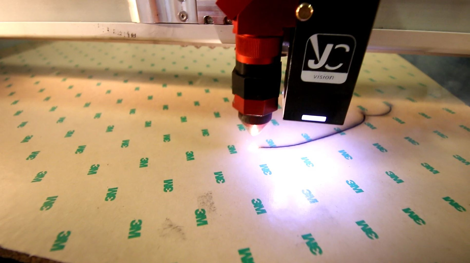 Laser Cutting the Bottom Layers and Glue Them Together