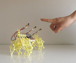 Training Theo Jansen's Mini STRANDBEEST