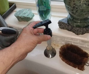 Fixing That Stupid Soap Dispenser Built Into the Sink
