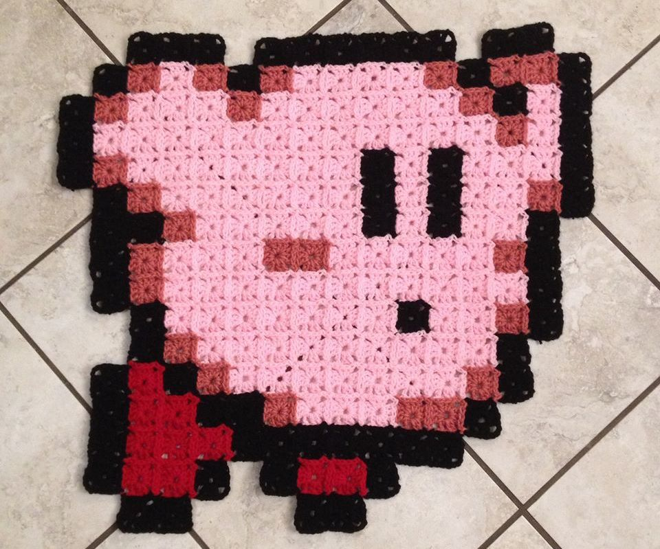 Fastest and Easiest Granny Square Pixels