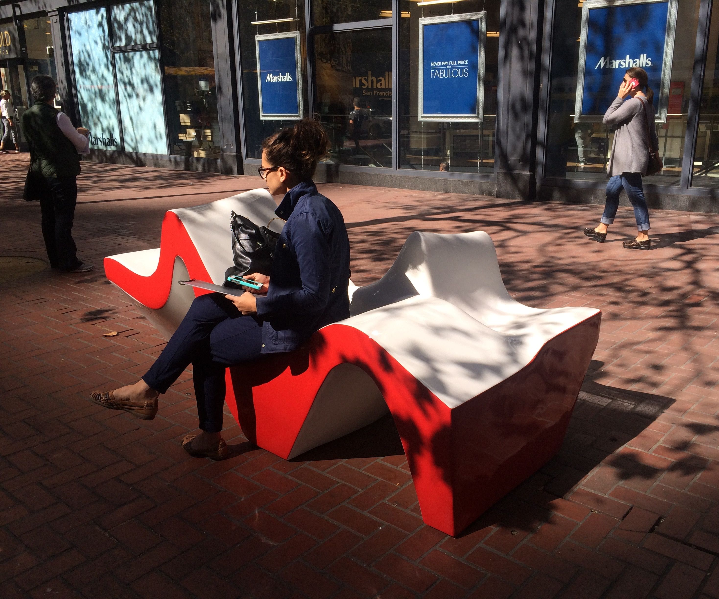 PULSE - social seating structure - Market Street Prototyping Festival 2016