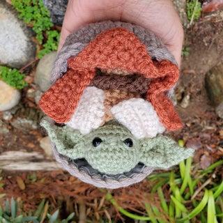 Crochet Mini Baby Yoda