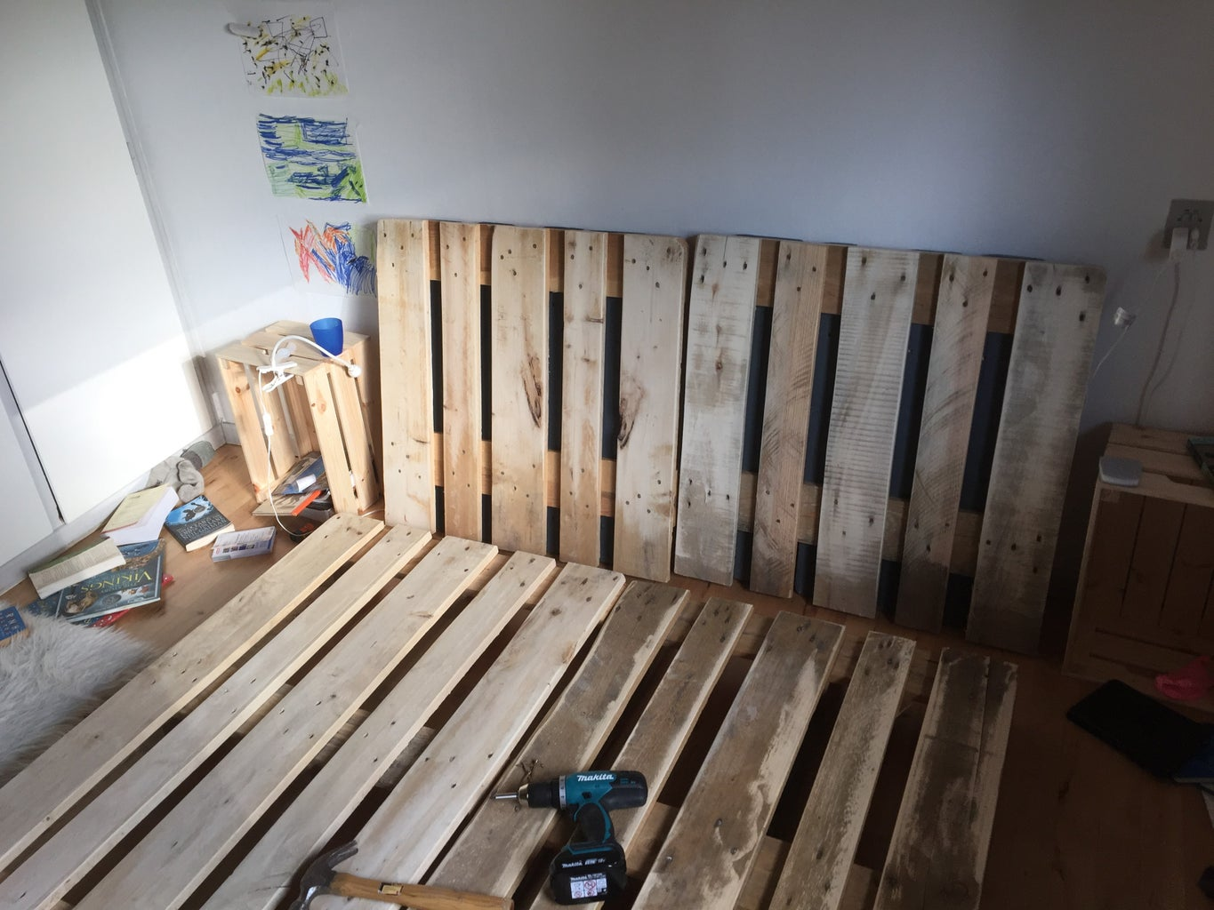 Assemble the Bed in Your Bedroom