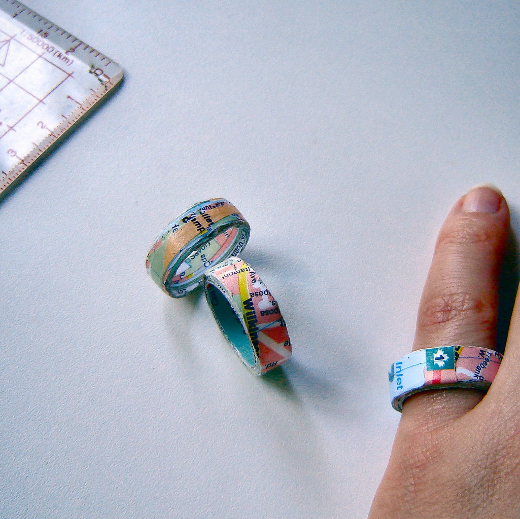 How to Make a Map Ring
