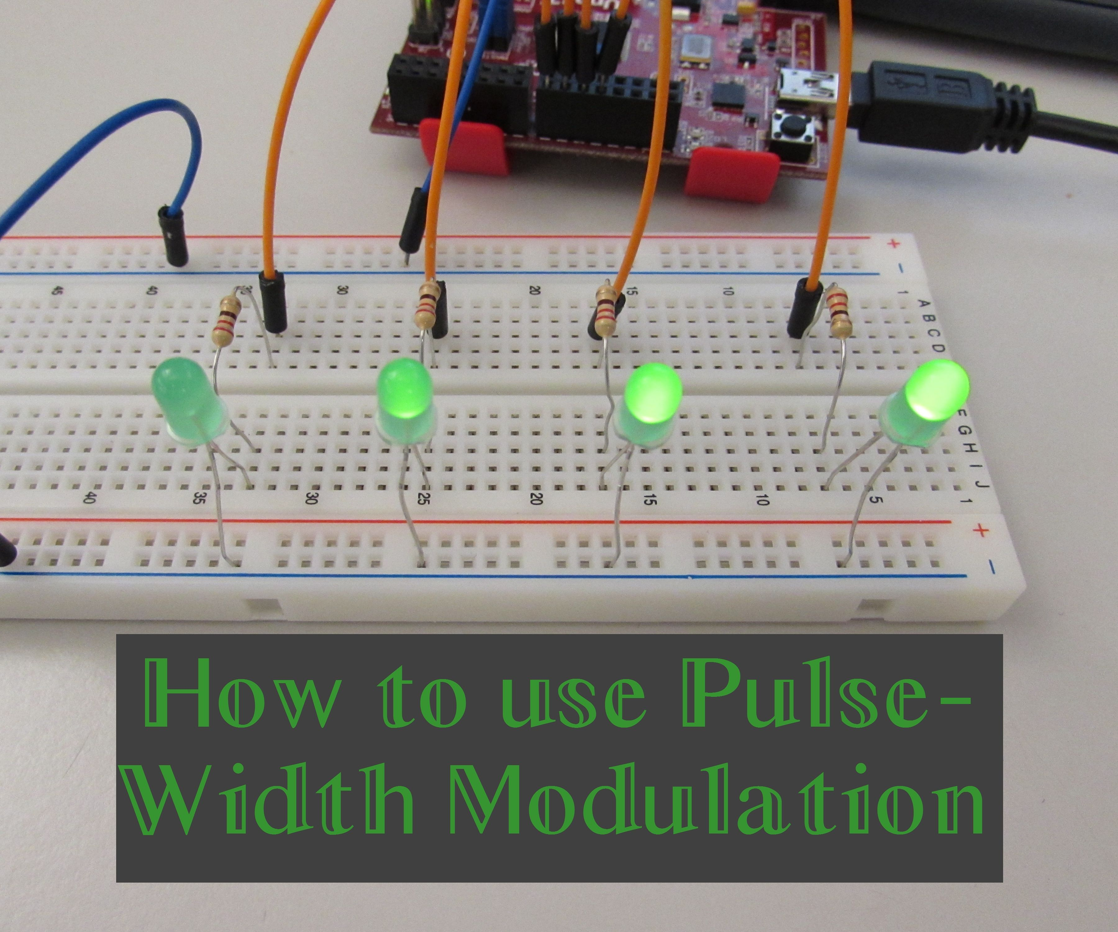 How to use Pulse-Width Modulation