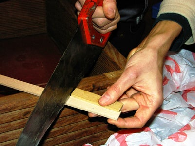 Fitting of Screws and Wood-pieces