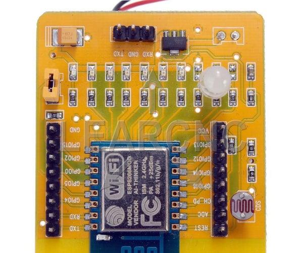 ESP8266 ESP-12(Standalone)+ Blynk 101