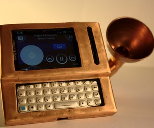 GramoPhone Smartphone Dock