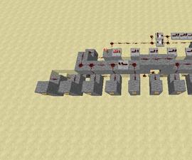 Minecraft Combination Lock (1, 5, 0, 9)