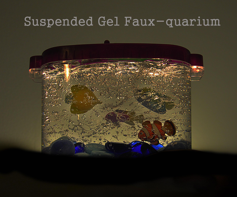 Suspended Gel Faux-quarium
