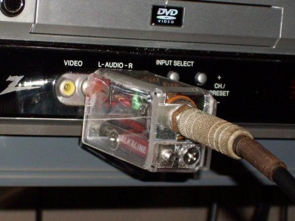 Guitar to AV Receiver Interface