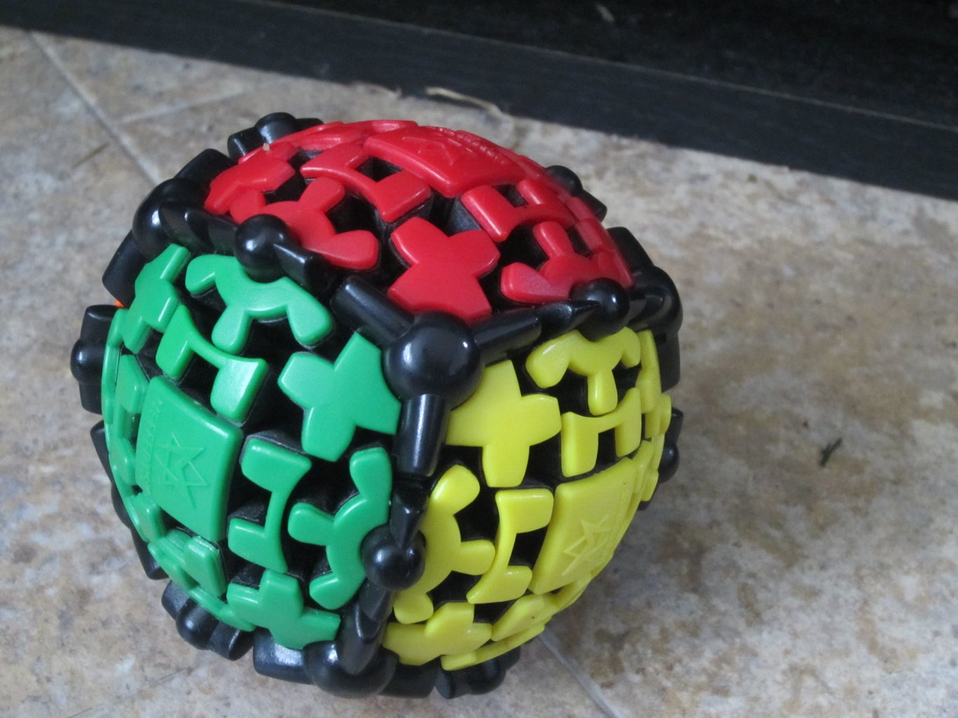 How to Solve the Gear Ball Rubik's Cube