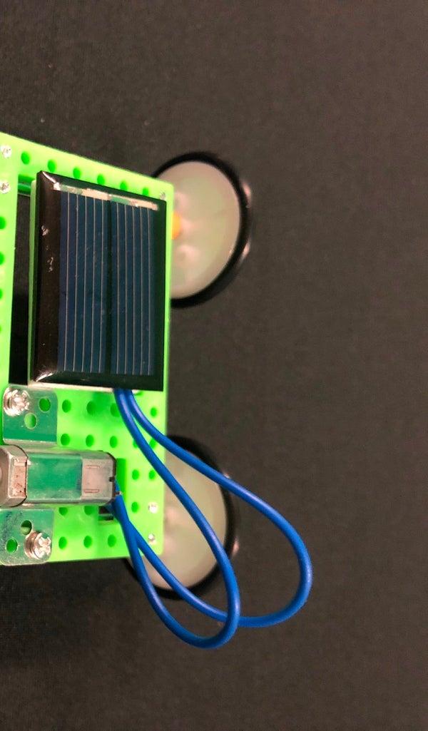 DIY Solar Panel Toy Car