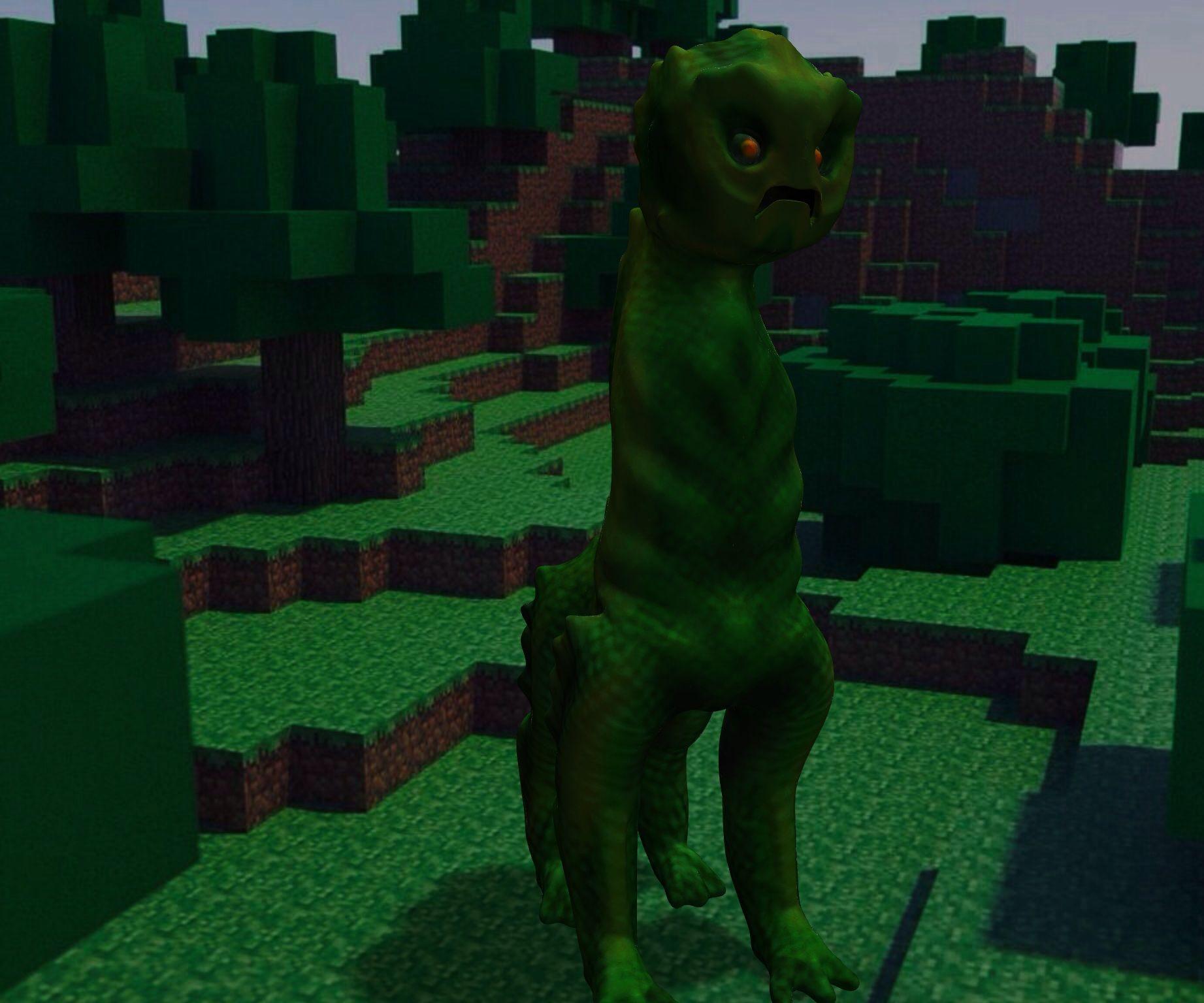 123d Creeper! A 123d creature design