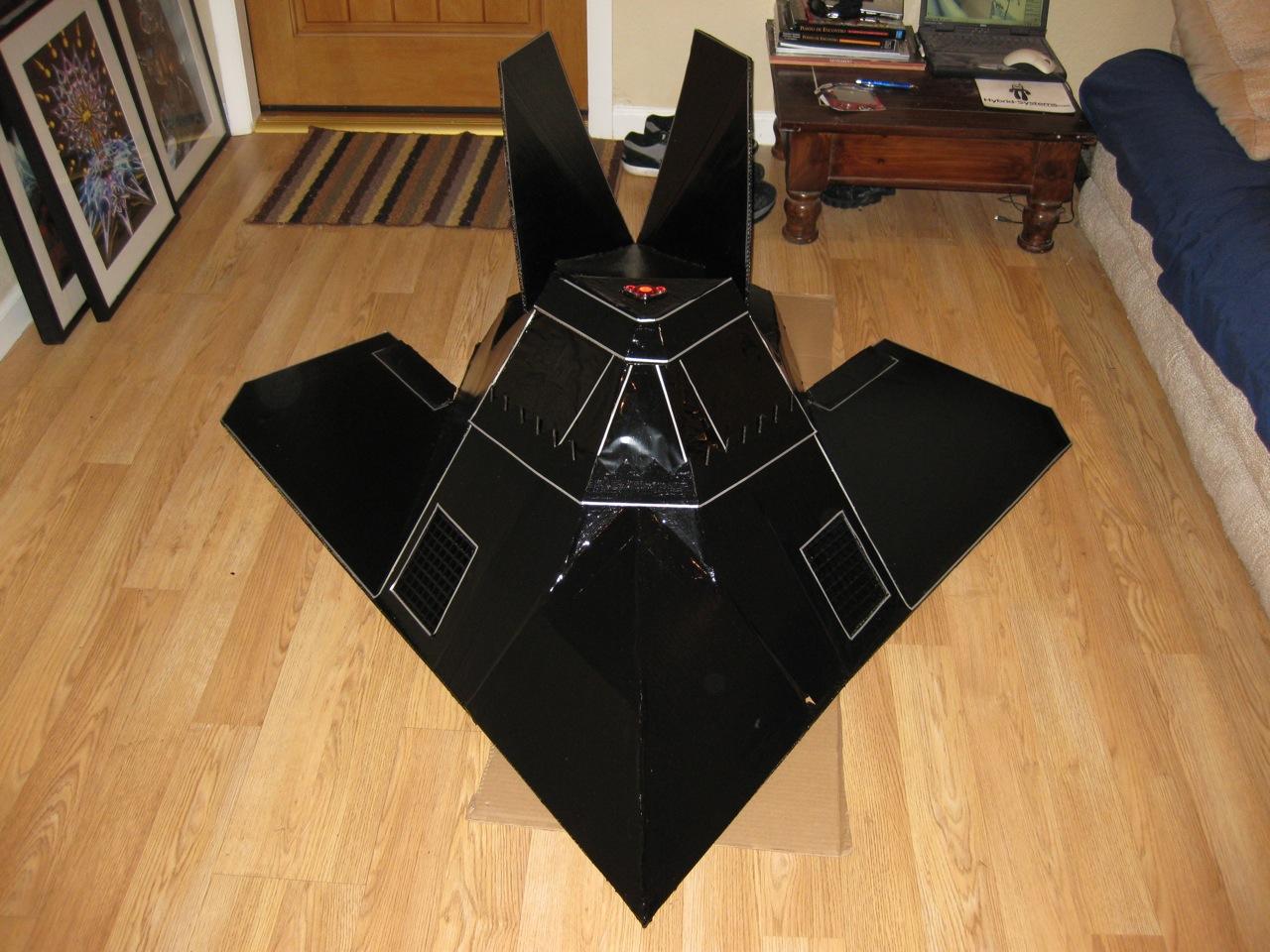 Stealth Fighter Halloween Costume F-117 Night Hawk