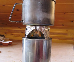 Woodgas Can Stove