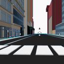 New York City Street Scene in Tinkercad