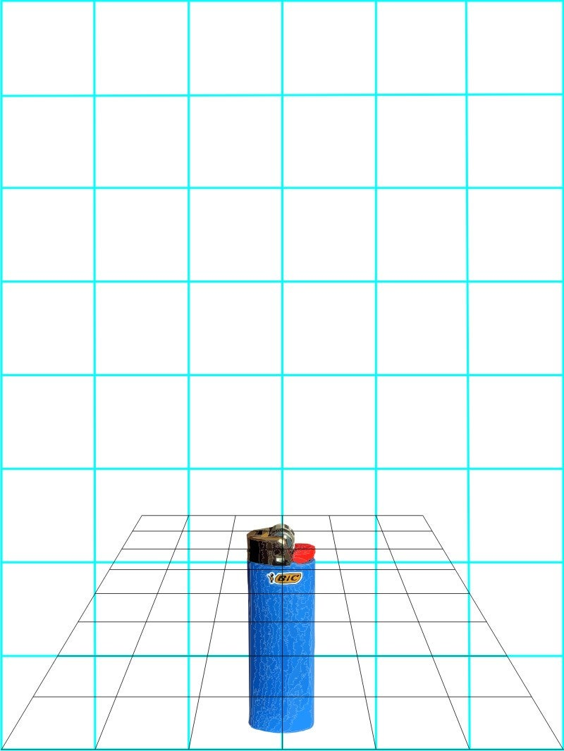 Place Object in the Grid.