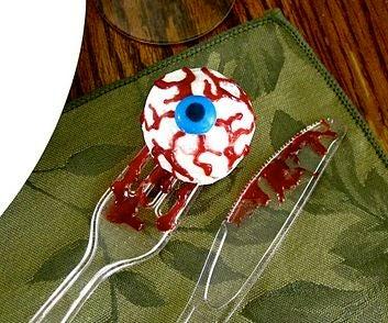 Bloody Jelly Donut Eyeballs