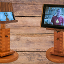 Adjustable Cell Phone / Tablet Stand for Video Calls
