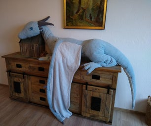 Conjuring a Dragon (How to Create a Giant Plushy)