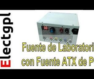 Laboratory Power Supply With PSU ATX