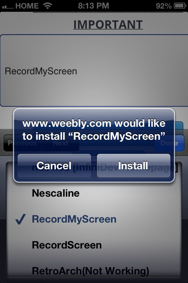 How To Download Recordmyscreen Without Jailbreak