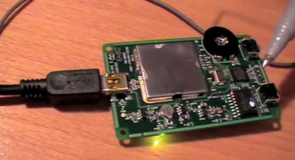 GPS Test 1 - Reading NMEA Data Using an Arduino