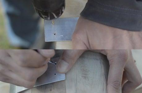 Adding the Metal Brace