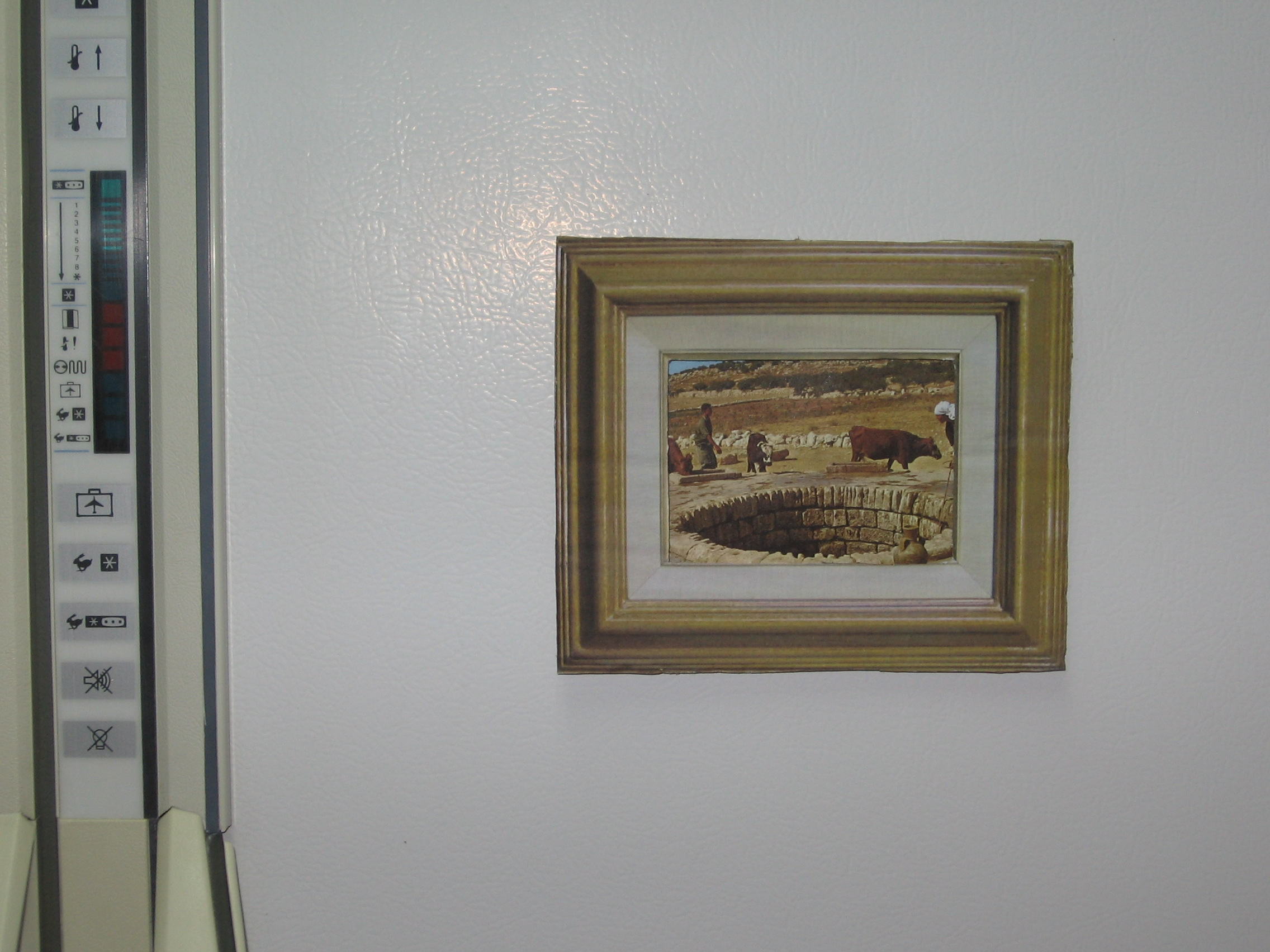 Picture frame fridge magnet