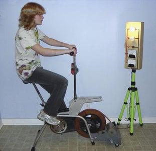 Turn an Exercise Bike Into an Energy Bike