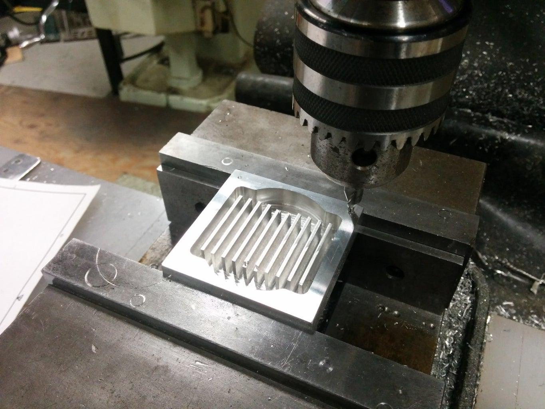 Manual Machining the Main Block