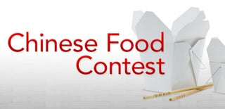 Chinese Food Contest