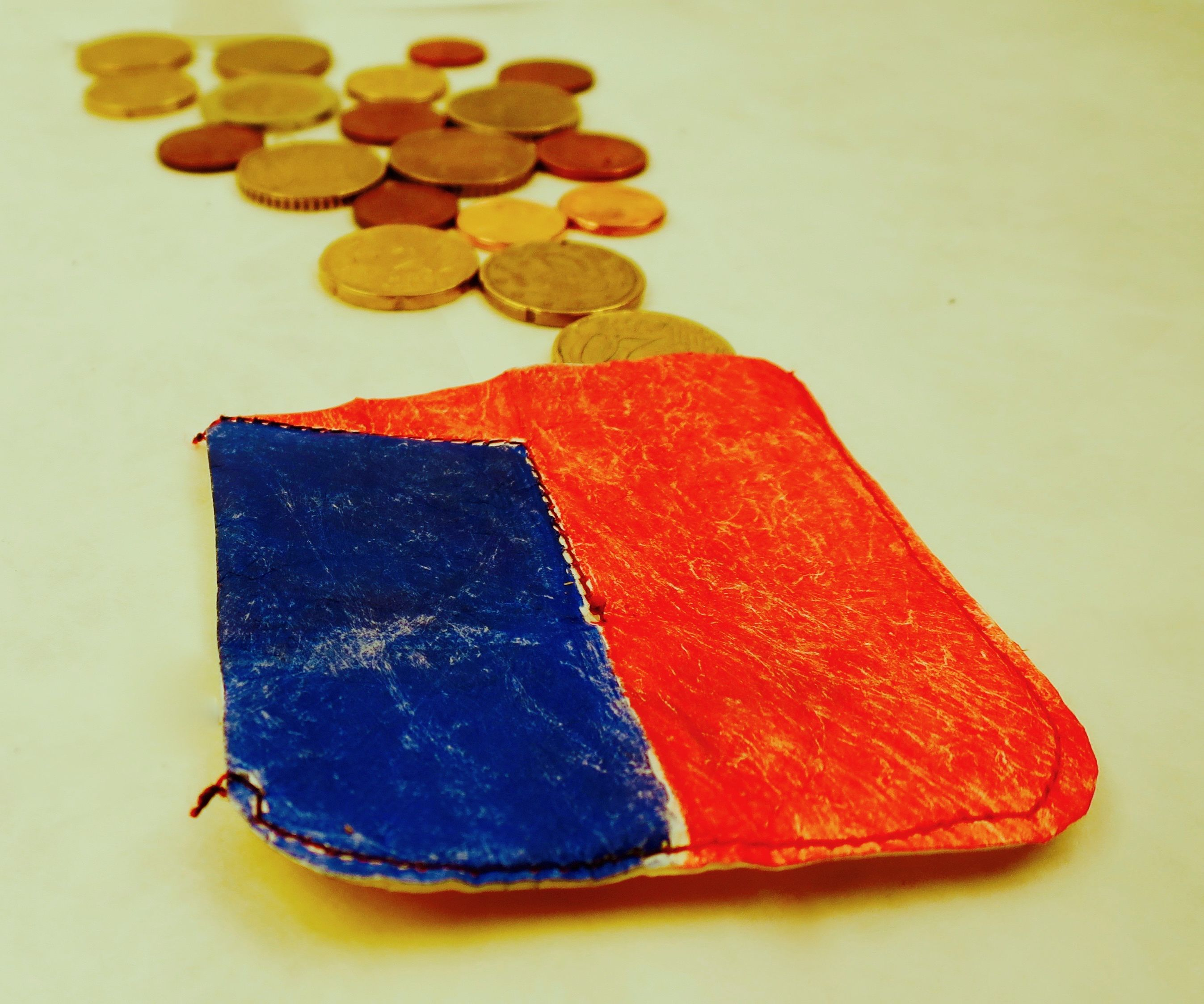 Magic coin wallet