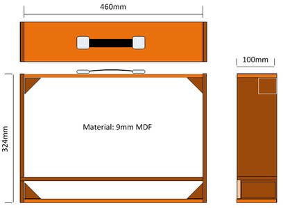 Quiz Cabinet Frame