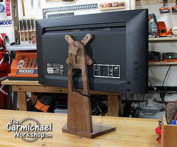 DIY Smart TV Monitor Stand
