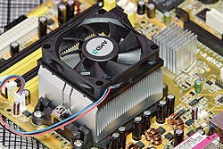Heat-sink for LEDs