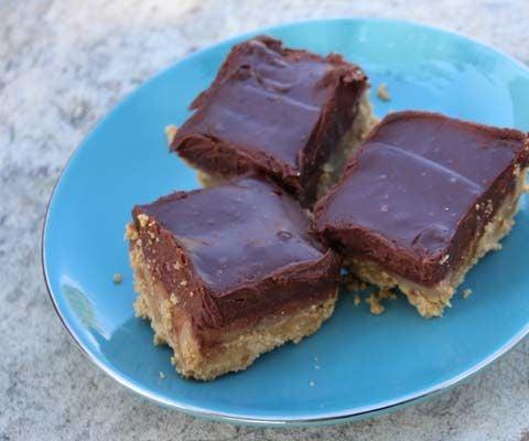 Gluten Free Caramel Ganache Bars!