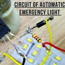 HOW TO MAKE A  AUTOMATIC EMERGENCY LIGHT CIRCUIT  USING D882 TRANSISTOR