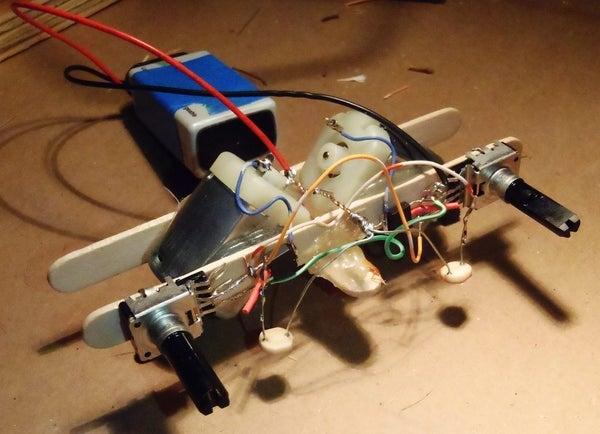 Simple Light Following Robot