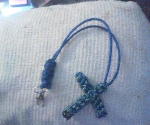 Paracord Cross - Box Knot