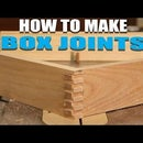 How to Make Easy Box Joints - Finger Joints