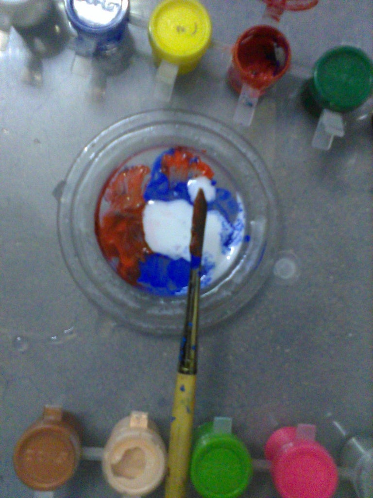Making the Colour(for Those Who Are Going to Paint)
