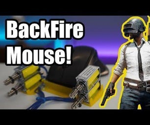 DIY Kickback Mouse in the Game (PUBG Gameplay)