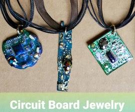 Circuit Board Jewelry