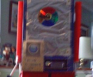 Robot-O Awesome-O Disc-O the Disco Robot (decoration)